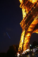 Au pied de la Tour Eiffel