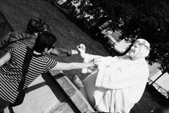 Mime à Montmartre