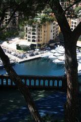 Monaco, vue depuis le Palais Princier