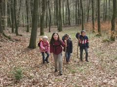 Gemeinsam im Wald