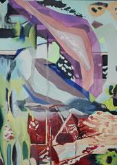Insight V, Öl auf Leinwand, 50 x 80 cm, 2018, Privatbesitz