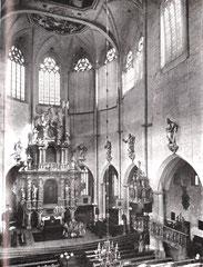 Kirchen-Inneres (um 1926)