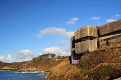 Nazi bunker at Phare du Petit Minou - Plouzane / Bretagne