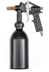 Druckbecherpistolen