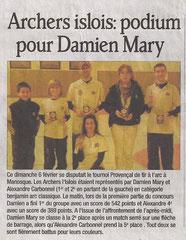Dauphiné Libéré, 8 février 2011