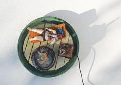 Sigrid Kofler  mein wasser  Keramik 2012