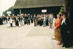 Paula und Ehrenoberst Josef Thesing