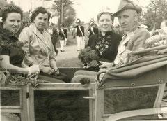 Toni Beving, Margarete Göntgens, Franziska Temming-Große-Sunderhaus, König Hermann Honvehlmann-Meiering