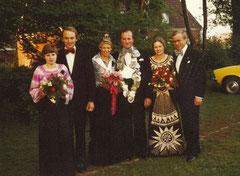 Hildegard Ening, Johannes Ening, Anne Horstick, König Hermann Hessing, Antonia Hessing, Hermann Horstick