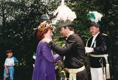 Neues Königspaar: Mechthild Schwitte und Willy Haveresch