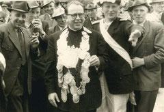 Bernhard Bönning, Ehrenkönig Vicar Lange, Major Willi Temming