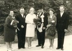 Maria Bönning, Josef Beving-Brüning, Tina Lütke-Osterholt, König Bernhard Bönning, Änne Beving-Brüning, Georg Lütke-Osterholt