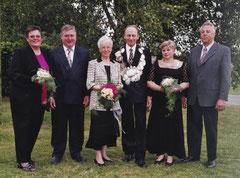 Christa Robert, Bernhard Robert, Margret Schulze Iking, Johannes Ening, Hildegard Ening, Georg Hessing