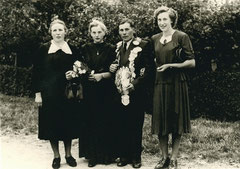 Paula Stover, Franziska Pennekamp, König August Thesing, Hedwig Twyhues