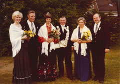 Irmgard Damm, Franz Bäing, Mathilde Bäing, König Josef Funke, Anneliese Funke, Engelbert Damm
