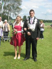 Königspaar Stefan und Lisa-Marie