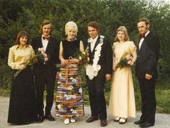Tekla Haveresch, Hubert Ostendarp, Christa Börger, König Franz van Üüm, Angela Lütke-Sunderhaus, Paul Ening