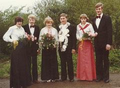 Hedwig Robert, Ludger Schröer-Hörnemann, Margret Schröer-Hörnemann, König Bernhard Robert, Mechthild Ening, Hermann Robert