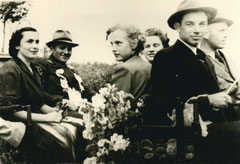 Maria Deitert, König Bernhard Beving, Franziska Pennekamp, Toni Beving, Bernhard Musholt, Paul Sicking