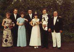 Maria Robert, Johannes Ening, Sophia Ening, Alfred Böckmann, Mechthild Böckmann-Bönning, König August Ening, Oberst Josef Thesing