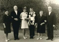 Margarete Breuers, Anton Breuers, Maria Breuers, König Hubert Tenbrink, Josefine Tenbrink, Bernhard Tenbrink