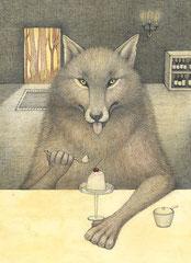 移動式レストラン(オオカミ)