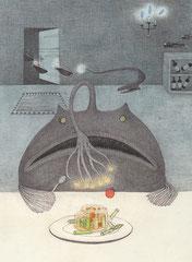 移動式レストラン(チョウチンアンコウ)