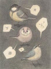 移動式レストラン(小鳥たち)