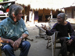 Burma 2005 Dorf bei Mandalay