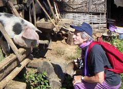 Burma 2008 Dorf bei Kalaw