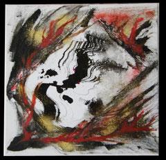 Encre & acrylique sur toile (20x20cm 40€) ©B.Dupuis