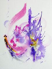 Anarchy - encre & aquarelle sur papier (vendu) ©B.Dupuis