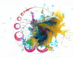 encre & aquarelle sur papier - 10€ ©B.Dupuis