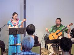 2013年7月コンサート「ウクレレとギターの夏休み」
