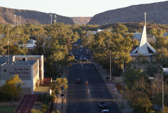 Alice Springs vom ANZAC-Hill