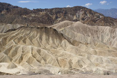 Beim Zabriskie Point nahe des Death Valley, USA