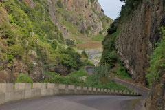 Alte Landstraße auf Madeira