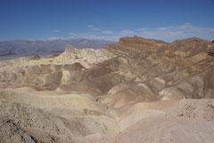 Stopp vor der endgültigen Gluthitze des Death Valley, USA