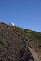 Blick hoch zum Pico Arieiro