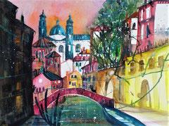 Venedig Impression   56 x 76