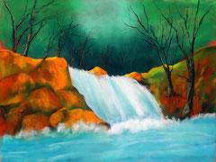 Wasserfall  Jan 2014