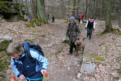 Hundeschulausflug-Sicher auf 4 Pfoten-Herzberg, April 2013, Foto Nr.13