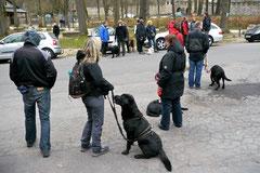 Hundeschulausflug-Sicher auf 4 Pfoten-Herzberg, April 2013, Foto Nr.5