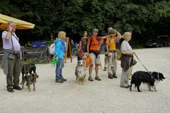 Eröffnungswanderung Trekking-Dogs, Juli 2011 Altkönig