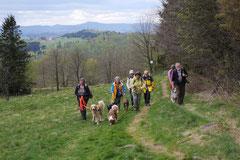 Mantrailing+Wandern Rhön,T-Dogs,30.4.-3.5.2015 Foto Nr.8