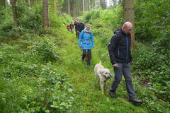 Rheinsteig Light, T-Dogs, Mai 2014, Foto Nr.2
