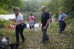 Hundeschulausflug Sicher auf 4 Pfoten, Grüner See, 28.9.14, Foto Nr.14
