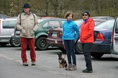 Hundeschulausflug-Sicher auf 4 Pfoten-Herzberg, April 2013, Foto Nr.2