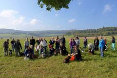 Grünwiesenweiher Welttierschutztag, T-Dogs, 4.10.2014 Foto Nr.4