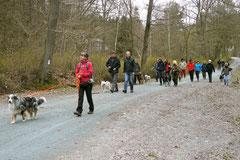Hundeschulausflug-Sicher auf 4 Pfoten-Herzberg, April 2013, Foto Nr.6